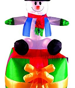 Brite-Ideas-Inflatable-Green-Present-with-Snowman-Sat-on-Top-180-cm-0