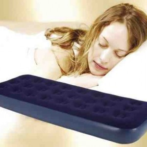 SingleDouble-Airbed-Mattress-Inflatable-indoorOutdoor-Blow-Up-Sleeping-Bed-Single-0-0