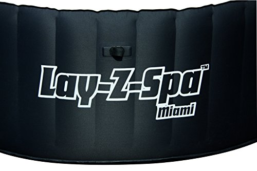 Lay-Z-Spa Miami Inflatable Hot Tub side