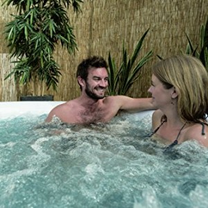 Lay-Z-Spa Miami Inflatable Hot Tub couple