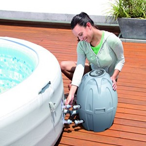 Lay-Z-Spa Vegas Premium Series Inflatable Hot Tub inflated