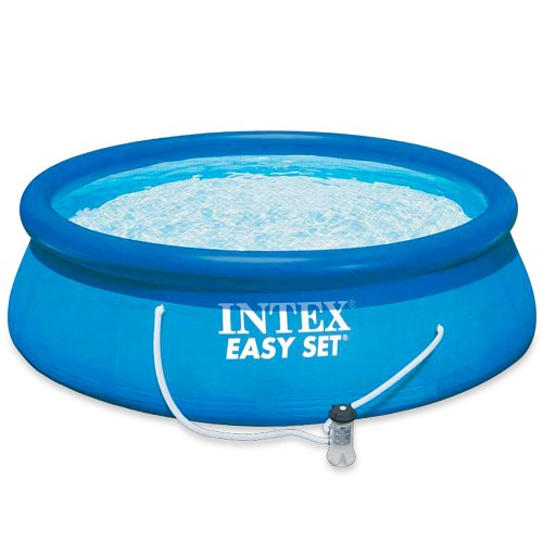 10ft X 30in Easy Set Pool With Filter Pump 56922 Inflatable