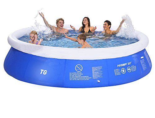12ft instant garden pool easy setup garden inflatable for Garden inflatable swimming pool