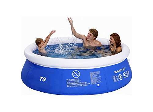 8ft instant garden pool easy setup garden inflatable for Garden inflatable swimming pool