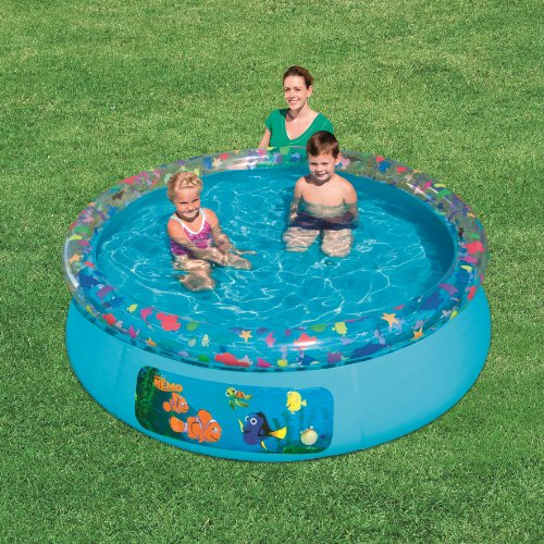 Bestway Finding Nemo Fast Set Above Ground Pool Blue Inflatable