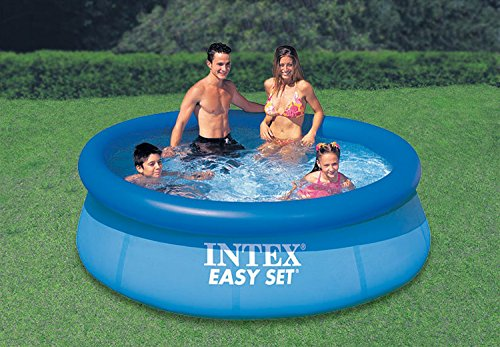intex easy set pool without filter blue 8 39 x 30. Black Bedroom Furniture Sets. Home Design Ideas
