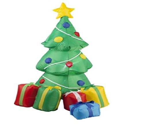 Inflatable christmas tree with gifts m by snow white