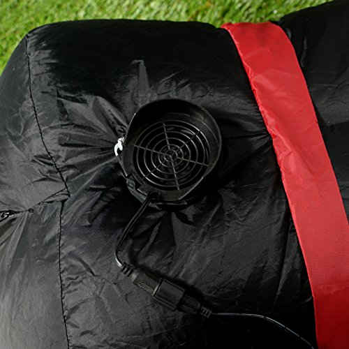 werchristmas 120 cm large pre lit vampire inflatable. Black Bedroom Furniture Sets. Home Design Ideas
