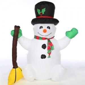 Inflatable Christmas Snowman