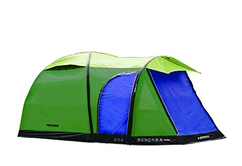 4 Man Inflatable Green Hurricane Air Tent With Qwik Frame