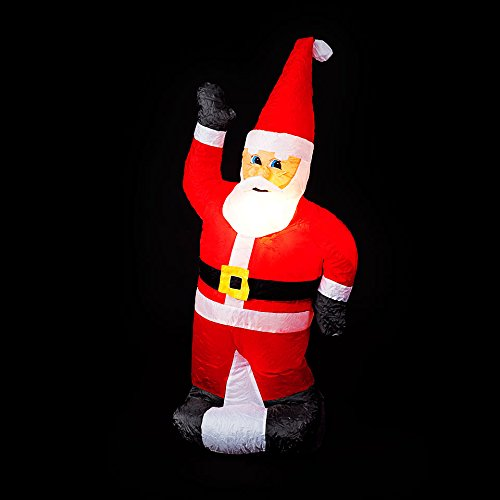 Ft inflatable standing santa