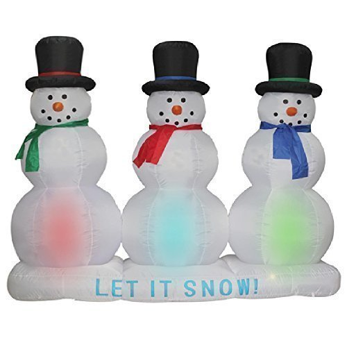 huge inflatable snowmen - Huge Inflatable Christmas Decorations