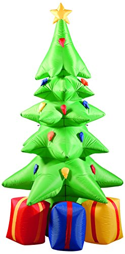Tall Inflatable Christmas Tree with Presents