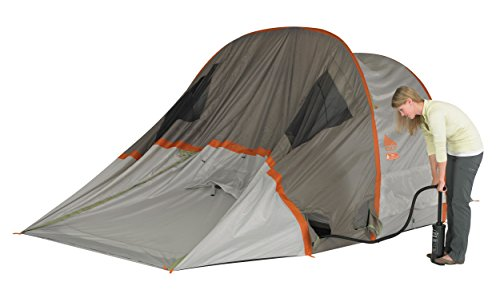 Kelty Mach 4 man inflatable tent being inflated  sc 1 st  Inflatable & Kelty Mach 4 man inflatable tent | Airpitch | Great reviews