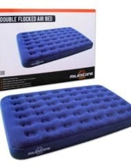 fb58e6c5d0f Gelert Double Flock Airbed Including Pump - Inflatable