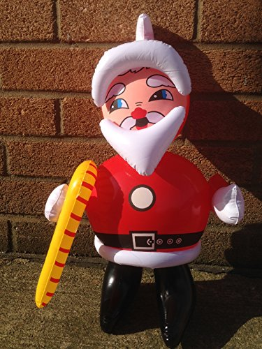 Small inflatable santa claus father christmas approx
