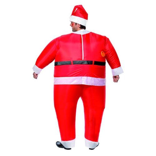 sc 1 st  Inflatable & Smiffyu0027s Santa Claus Inflatable Costume - Inflatable