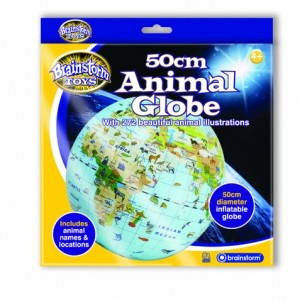 Giant inflatable animal globe box