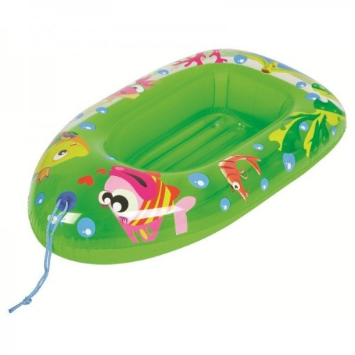Childs Inflatable Dinghy Float Boat Kids Childrens Swimming Pool Beach Toy Inflatable