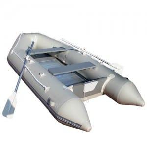 RIB boat: rigid inflatable boat