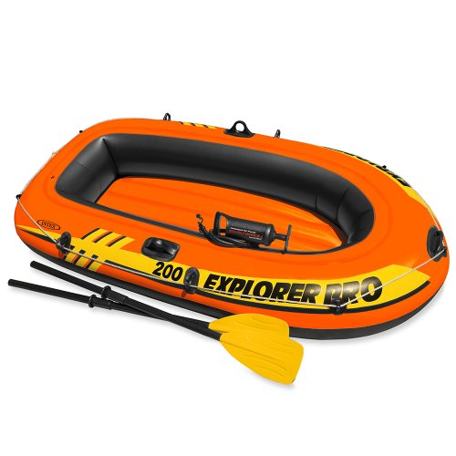 Intex Explorer Pro 200 Boat Set Inflatable
