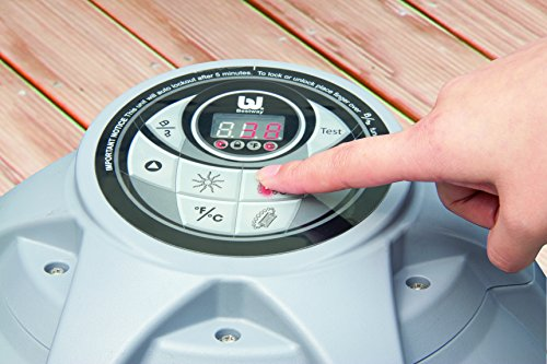 Lay-Z-Spa Miami Inflatable Hot Tub heating system