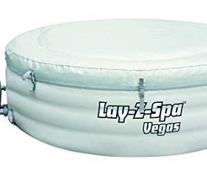 Lay-Z-Spa Vegas Premium Series Inflatable Hot Tub inflating