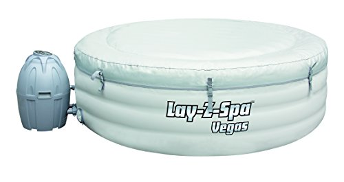 Lay-Z-Spa Vegas Premium Series Inflatable Hot Tub inflating