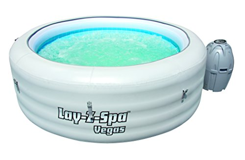 Lay-Z-Spa Vegas Premium Series Inflatable Hot Tub from side