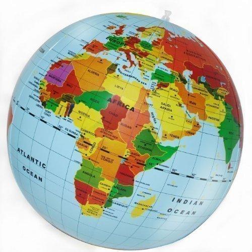 New kids 50cm mega inflatable political world globe maps educational new kids 50cm mega inflatable political world globe maps educational aid toy inflatable gumiabroncs Choice Image