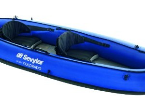The Sevylor Colorado 2 Person inflatable kayak is one of the higher end inflatable kayak currently available on the market