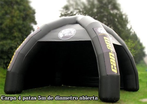 Tucuman Adventure u2013 Inflatable Tent 4-Legged Abierta-Cerrada & Inflatable event tent by Tucuman Adventure | Event Tent UK