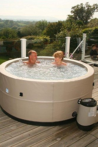 Swift Current Plug Amp Play Portable Hot Tub Inflatable