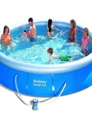 Bestway Rectangular Inflatable Family Pool54005 Bnfx16xx02 Inflatable