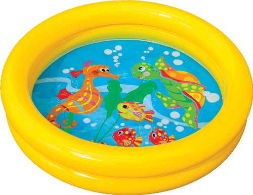 Baby toddler kids childs childrens inflatable swimming for Best children s paddling pool