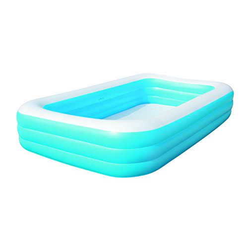 Bestway 120 x 72 x 22 inches deluxe family pool inflatable for Pool 300 x 120