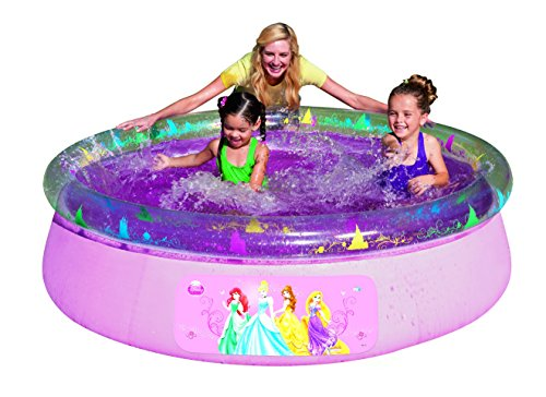 Bestway disney princess fast set above ground swimming for Obi fast set pool