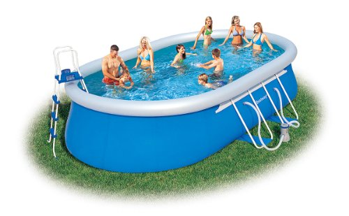 Bestway Oval Fast Set Above Ground Pool Inflatable