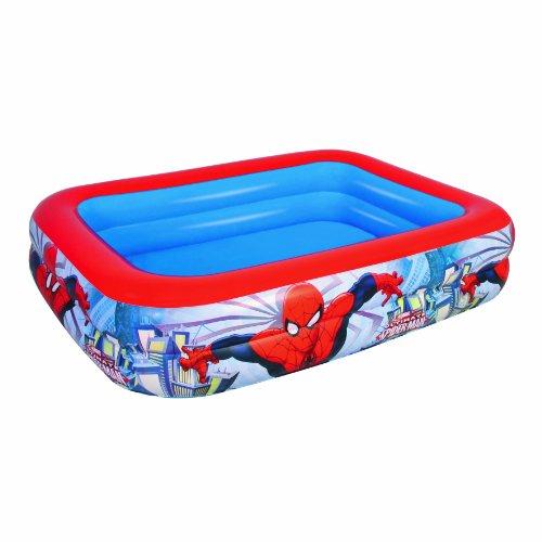Bestway Spiderman Play Above Ground Pool Blue Inflatable