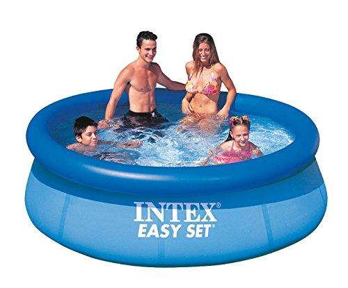 intex easy set pool without filter blue 8 39 x 30. Black Bedroom Furniture Sets. Home Design Ideas