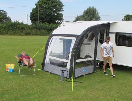 Kampa Rally Air Pro 200 Series 2 Inflatable Caravan Porch