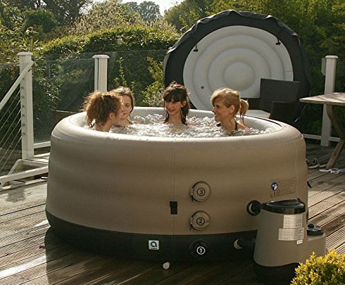 grand rapids plug play inflatable hot tub inflatable. Black Bedroom Furniture Sets. Home Design Ideas