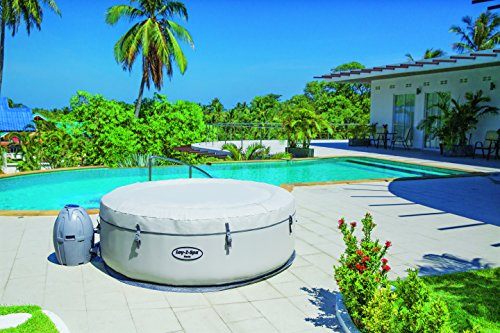 Lay-Z-Spa Paris with rapid heating system and insulating lid