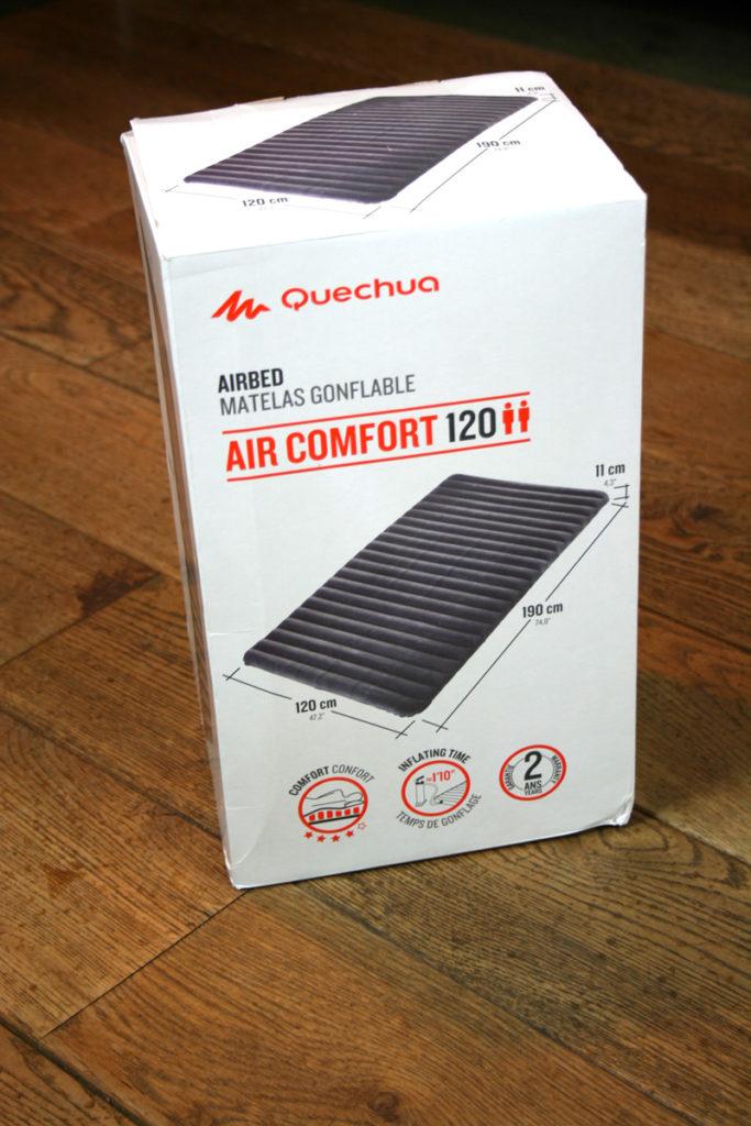 Quechua Air Comfort 120 - boxed