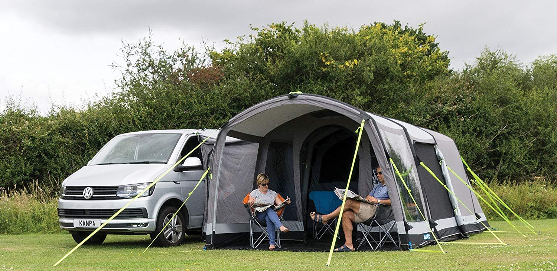 best tent with campervan