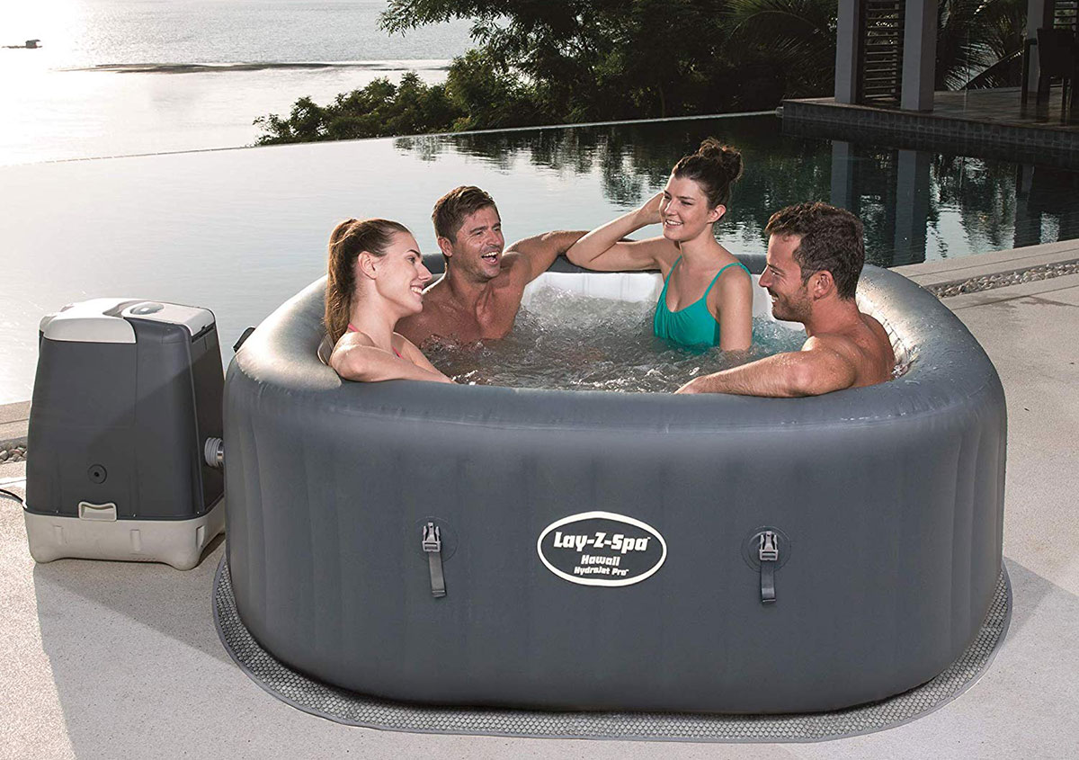 Hawaii no.2 best inflatable hot tubs